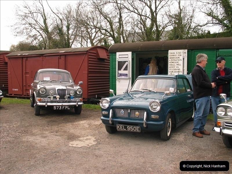 2005-04-16 & 17 Swanage Railway 50s & 60s Event @ Corfe Castle, Dorset.  (27)619619