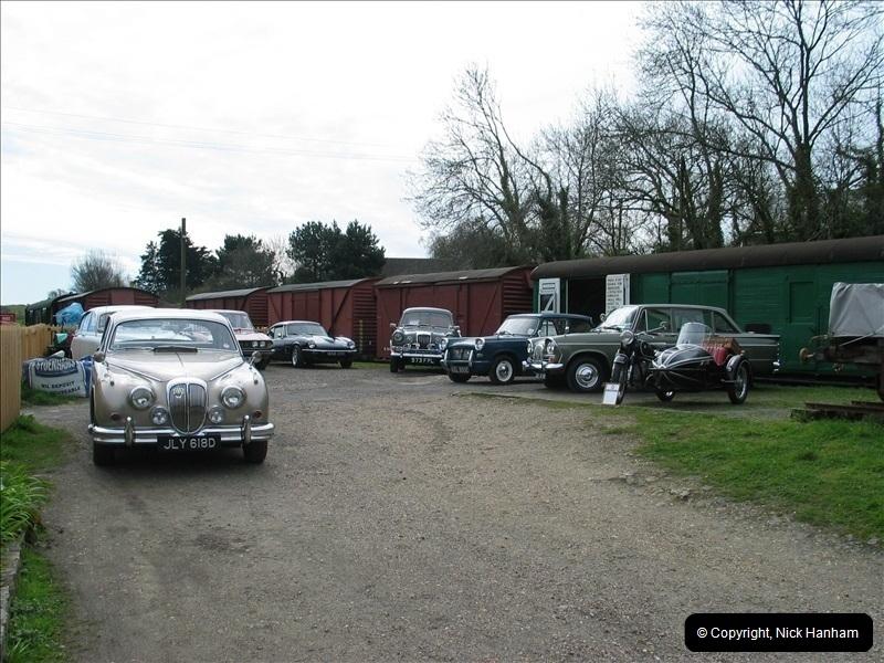 2005-04-16 & 17 Swanage Railway 50s & 60s Event @ Corfe Castle, Dorset.  (35)627627
