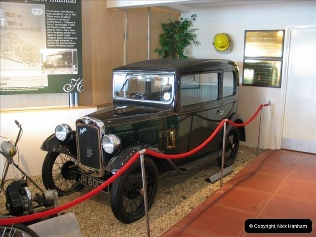 2005-06-24 Haynes Museum, Yeovil, Somerset.  (1)628628
