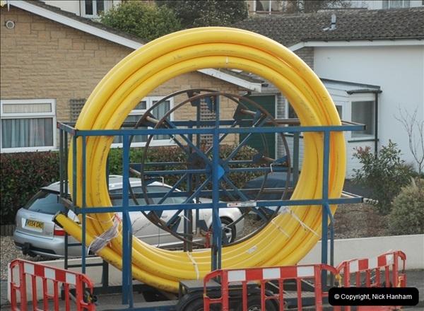 2012-02-20 Gas pipe renewal work. Poole, Dorset.  (3)047