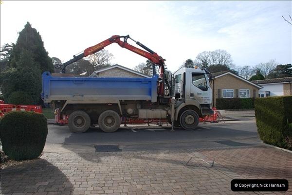 2012-02-20 Gas pipe renewal work. Poole, Dorset.  (6)050