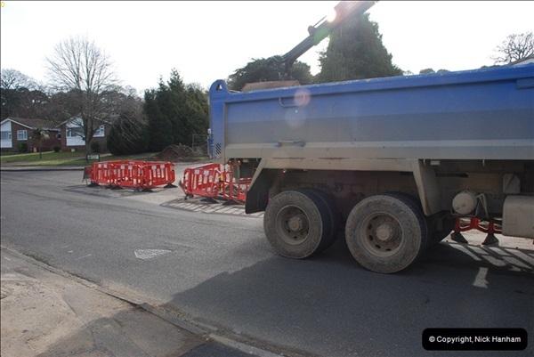 2012-02-20 Gas pipe renewal work. Poole, Dorset.  (8)052