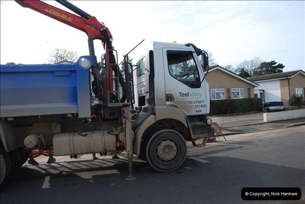 2012-02-20 Gas pipe renewal work. Poole, Dorset.  (9)053