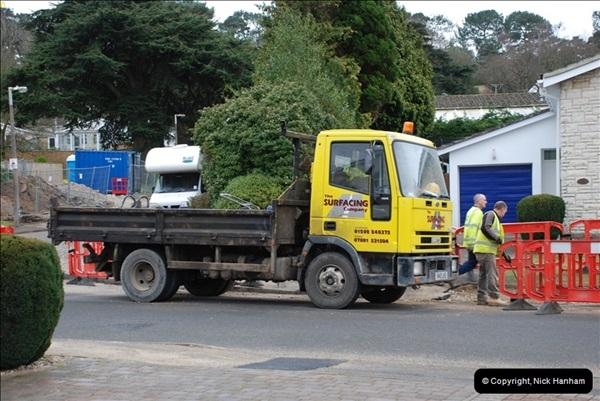 2012-02-20 Gas pipe renewal work. Poole, Dorset.  (12)056