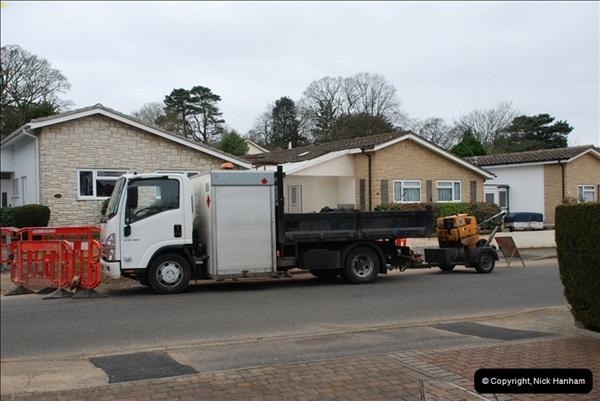 2012-02-20 Gas pipe renewal work. Poole, Dorset.  (13)057