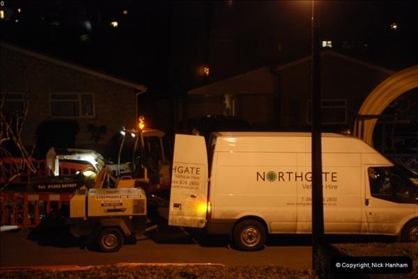 2012-02-20 Gas pipe renewal work. Poole, Dorset.  (15)059