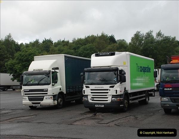 2012-08-02 Rownhams Services M27. East Bound.  (2)310