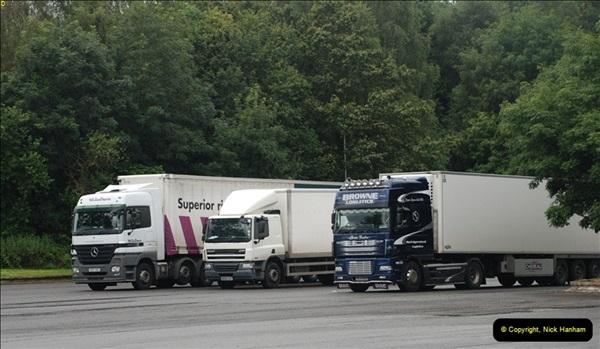 2012-08-02 Rownhams Services M27. East Bound.  (4)312