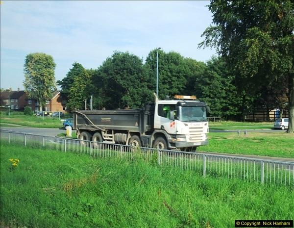 2013-09-28 Trucks in Nottinghamshire.  (14)114