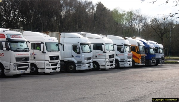 2014-03-26 Rownhams Services M27, Hampshire.  (20)066