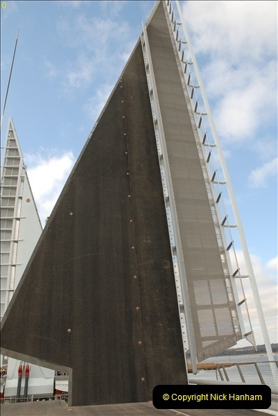2012-02-25 Poole Twin Sails Bridge first day open to the public. (No Vehicles) (37)092