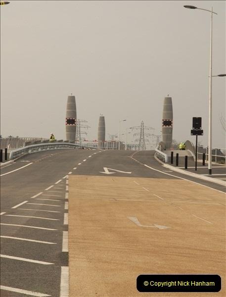 2012-02-29 Poole New Twin Sails Bridge  and Old Lifting Bridge.  (4)144