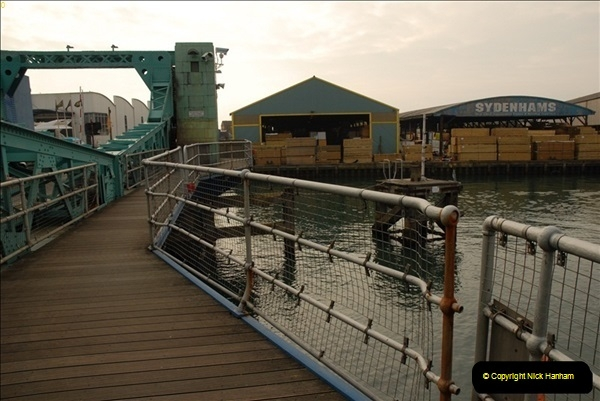 2012-02-29 Poole New Twin Sails Bridge  and Old Lifting Bridge.  (9)149