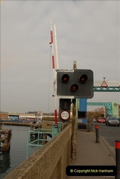 2012-02-29 Poole New Twin Sails Bridge  and Old Lifting Bridge.  (13)153