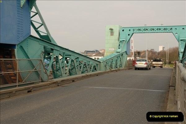 2012-02-29 Poole New Twin Sails Bridge  and Old Lifting Bridge.  (15)155