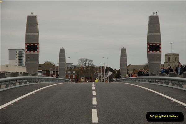2012-03-09 The Grand Opening of the Poole Twin Sails Bridge.  (5)187