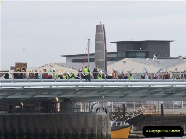2012-03-09 The Grand Opening of the Poole Twin Sails Bridge.  (12)194