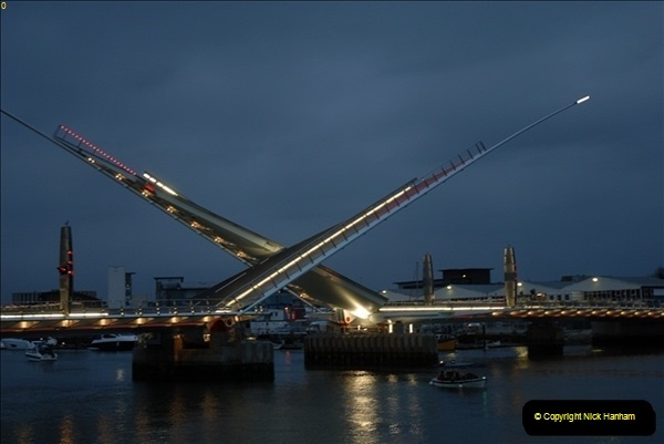 2012-03-09 The Grand Opening of the Poole Twin Sails Bridge.  (54)236