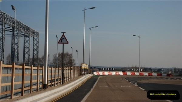 2012-04-06 Travelling over Poole Twin Sales New Bridge & the Old Bridge.  (6)304