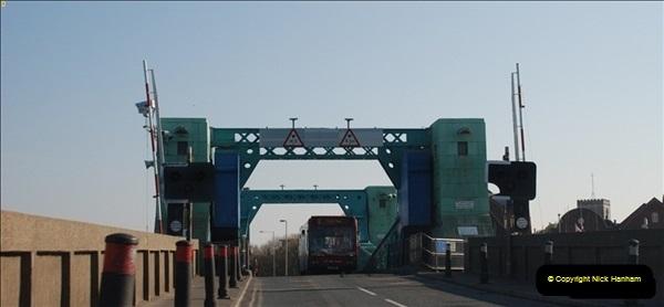 2012-04-06 Travelling over Poole Twin Sales New Bridge & the Old Bridge.  (20)318