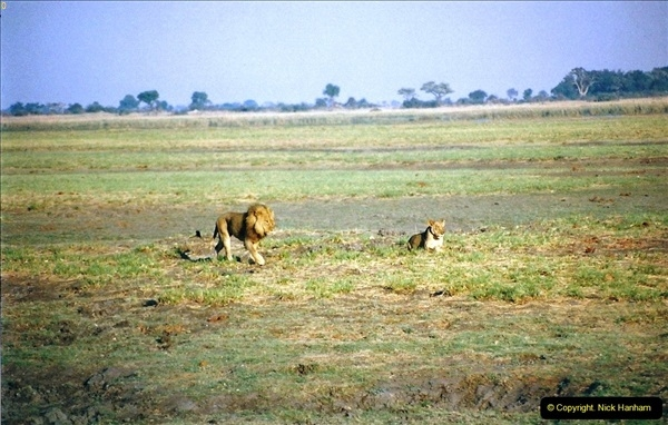 South & Central Africa October 1998.  (486)486