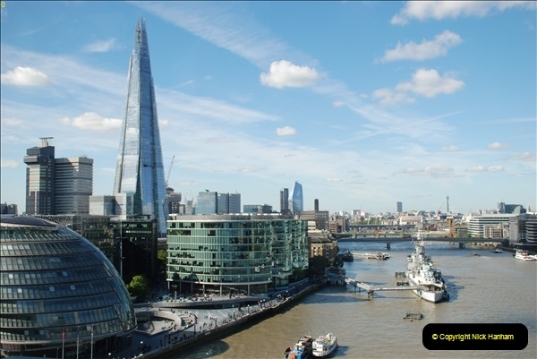 2018-09-24 Central London The Walkie Talkie Sky Garden) and Tower Bridge. (110)110