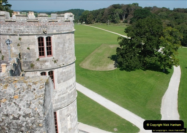 2015-09-10 Lulworth Castle & House, Dorset.  (54)054