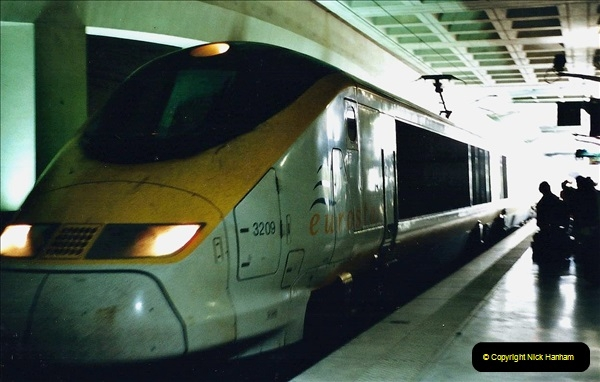 May 2001 France & Corsica. (369) Nice, Lille France & London Waterloo. 368