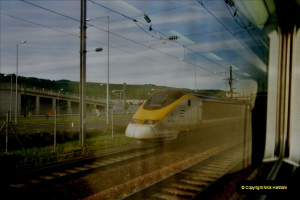 May 2001 France & Corsica. (372) Nice, Lille France & London Waterloo. 371