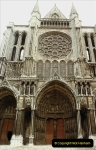 1984 Retrospective France North to South to North. (134) Chartres. 134