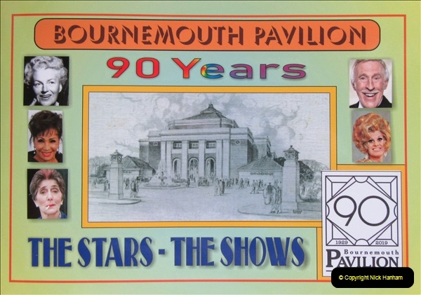 2019 March 16 Bournemouth Pavilion Theatre 90 Years. (5) 005