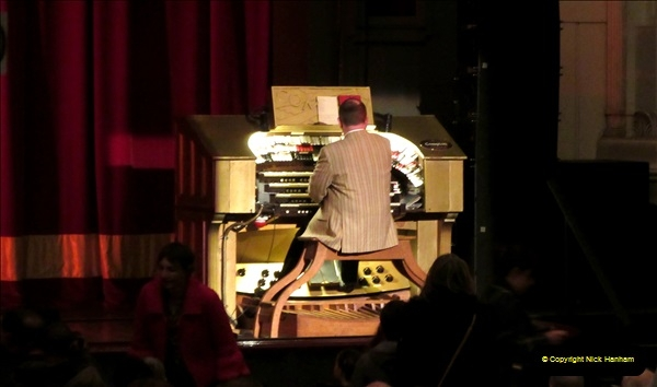 2019 March 16 Bournemouth Pavilion Theatre 90 Years. (41) The Compton Organ in action. 041