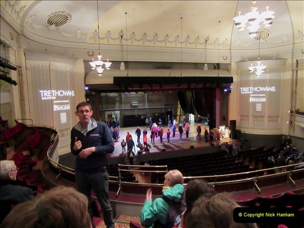 2019 March 16 Bournemouth Pavilion Theatre 90 Years. (60) Behind the scenes tour. 060