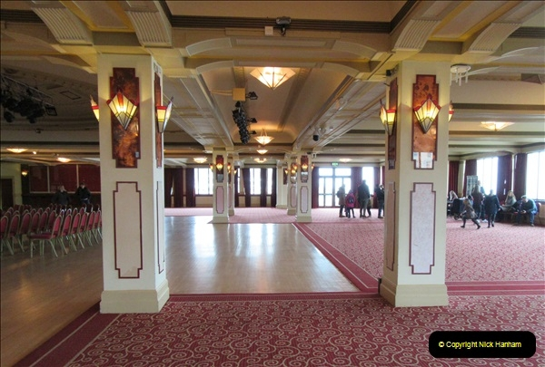 2019 March 16 Bournemouth Pavilion Theatre 90 Years. (62) Behind the scenes tour. The Ball Room. 062