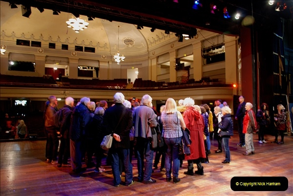 2019 March 16 Bournemouth Pavilion Theatre 90 Years. (69) Behind the scenes tour. 069