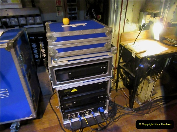 2019 March 16 Bournemouth Pavilion Theatre 90 Years. (76) Behind the scenes tour. 076