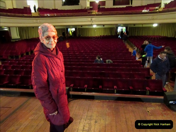 2019 March 16 Bournemouth Pavilion Theatre 90 Years. (84) Behind the scenes tour. Your Host's Wife. 084