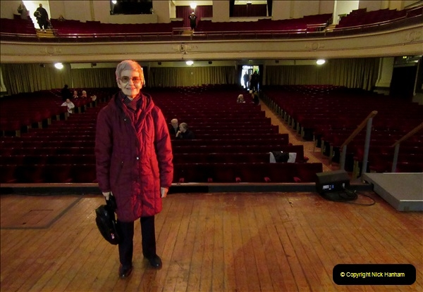 2019 March 16 Bournemouth Pavilion Theatre 90 Years. (85) Behind the scenes tour. Your Host's Wife. 084