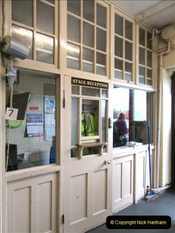2019 March 16 Bournemouth Pavilion Theatre 90 Years. (91) Behind the scenes tour. Stage Door Office. 091