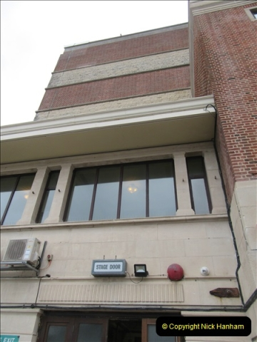 2019 March 16 Bournemouth Pavilion Theatre 90 Years. (93) Behind the scenes tour. The height of the building is dictated by the stage height. 093