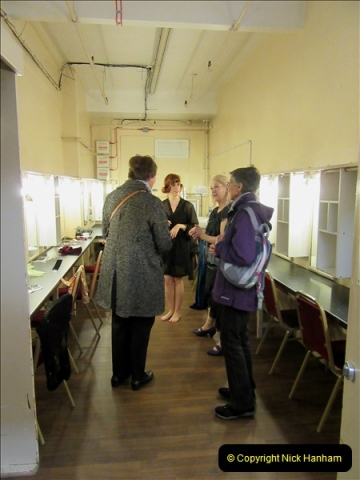 2019 March 16 Bournemouth Pavilion Theatre 90 Years. (98) Behind the scenes tour. Dressing room. 098