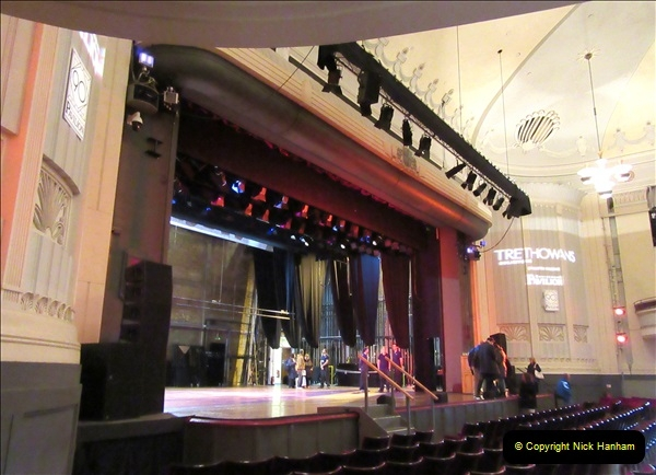 2019 March 16 Bournemouth Pavilion Theatre 90 Years. (105) Behind the scenes tour. 105