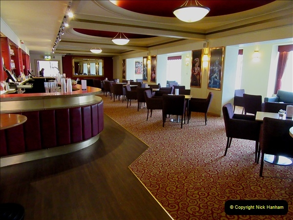 2019 March 16 Bournemouth Pavilion Theatre 90 Years. (106) One of the bars. 106