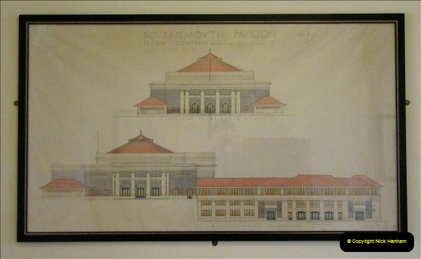 2019 March 16 Bournemouth Pavillion Theatre 90 Years. (109) Building elevation.109