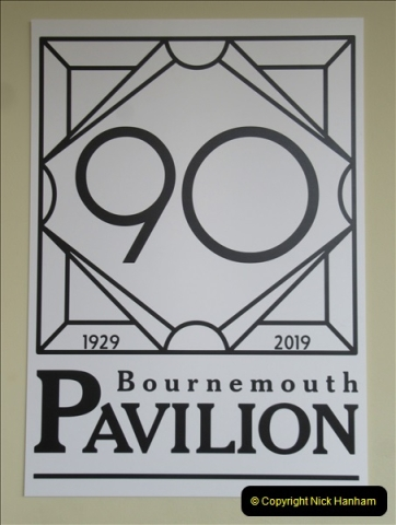2019 March 16 Bournemouth Pavillion Theatre 90 Years. (111) 111