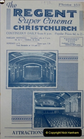 2019 March 16 Bournemouth Pavillion Theatre 90 Years. (131) Local cinemas and films. 131