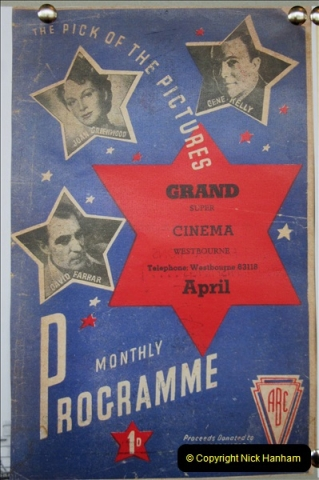 2019 March 16 Bournemouth Pavillion Theatre 90 Years. (133) Local cinemas and films. 133