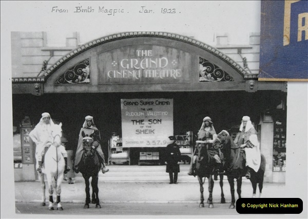 2019 March 16 Bournemouth Pavillion Theatre 90 Years. (166) Local cinemas and films. 166
