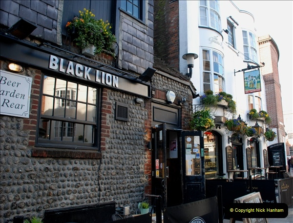 2019-03-11 to 13 Brighton, Sussex. (106) The Lanes and area. 106