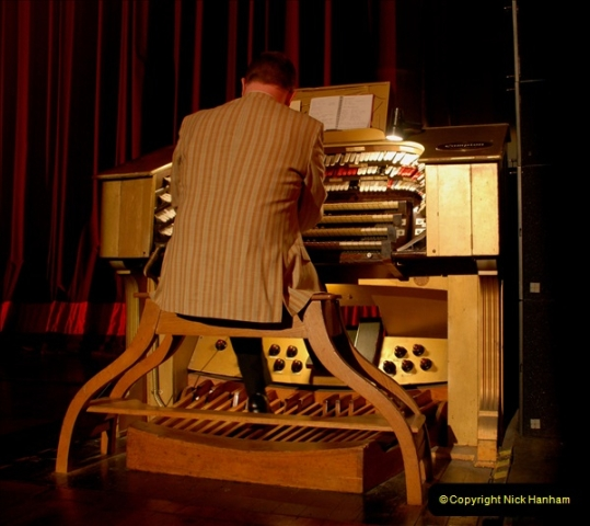 2019 March 16 Bournemouth Pavilion Theatre 90 Years. (4) Behind the scenes tour. The Compton Organ. 04